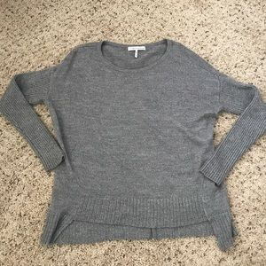 GREY SPARKLY SWEATER